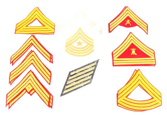 Military Chevrons & Service Stripes