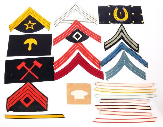 Military Patches/Chevrons (Felt)