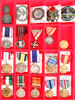 Military Medals (17) Hat Pins (4)