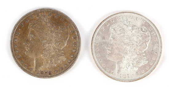 Morgan Silver Dollars (2) - 1879