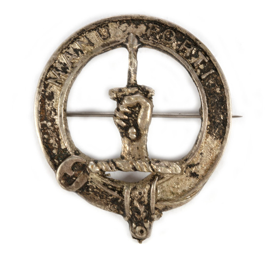 Clan Mackay Crest Pin