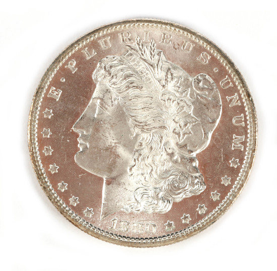 Morgan Silver Dollar - 1880\