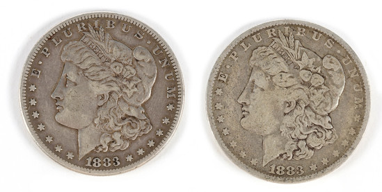 Morgan Silver Dollars (2)