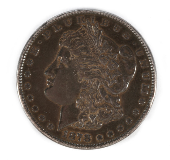 Morgan Silver Dollar - 1878