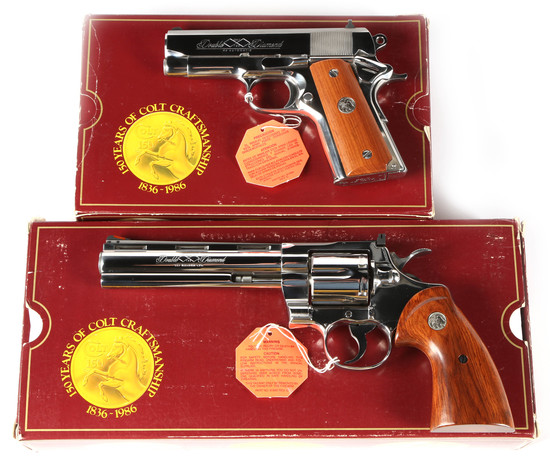 Colt Double Diamond Matched Numbered Set