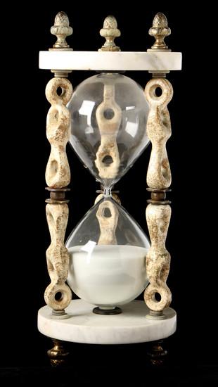 Italian Marble Hourglass