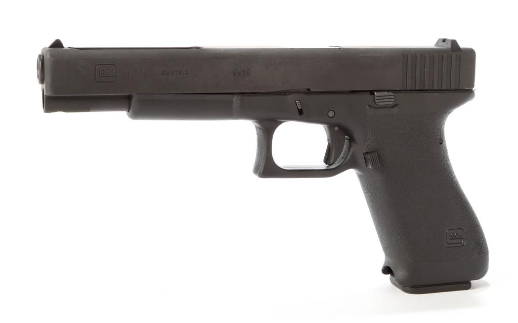 Glock Model 17L in 9 MM Para.
