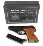 Mauser HSc American Eagle in .380 ACP