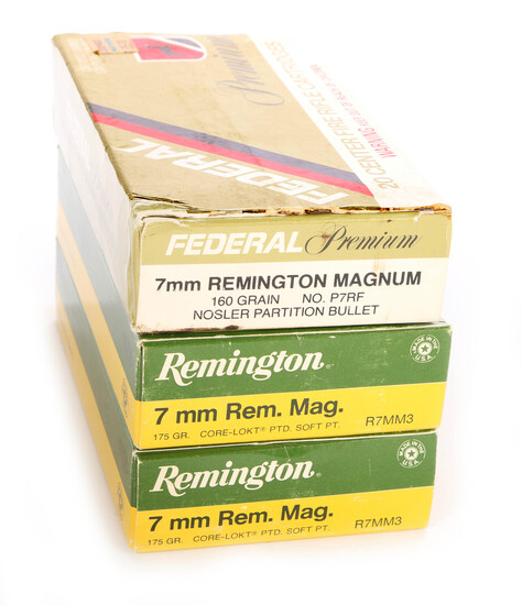60 Rounds 7MM Remington