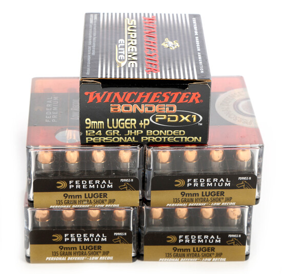 100 Rounds 9MM Luger