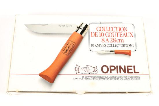 10 Knife Collector Set