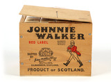 Johnnie Walker Red Label Blended Scotch Whiskey in wooden box - 11 Mini Bottles - Local Pickup Only
