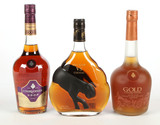 Mixed Lot Cognac - 3 Bottles - Local Pickup Only