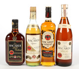 Mixed Lot Bacardi Rum - 4 Bottles - Local Pickup Only