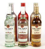 Bacardi Rum - 3 Bottles - Local Pickup Only