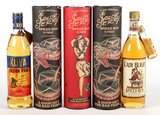 Mixed Lot Spiced Rum - 5 Bottles - Local Pickup Only