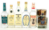 Mixed Lot Gin - 5 Bottles - For Local Pickup Only
