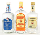 Mixed Lot Gin - 4 Bottles - For Local Pickup Only