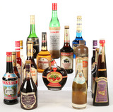 Mixed Lot Fruit Based Liqueur - 18 Bottles - For Local Pickup Only