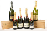 Champagne Bollinger (6) - Shipping is NOT available for this lot. Local pickup only.
