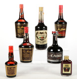 Mixed Lot Coffee Liqueurs - 7 Bottles - For Local Pickup Only