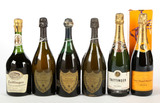 Mixed Lot of Champagne (12) - Shipping is NOT available for this lot. Local pickup only.