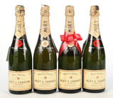 Mixed Lot of Moet & Chandon Champagne (8) - Shipping NOT available for this lot. Local pickup only