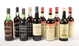 Mixed Lot of Port & Sherry (10) - Shipping is NOT available for this lot. Local pickup only.