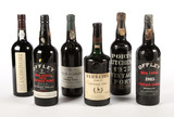 Mixed Lot of Vintage Port (6 Bottles) - Shipping is NOT available for this lot. Local pickup only.