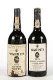 Warre's Vintage Port (2 Bottles) - Shipping is NOT available for this lot. Local pickup only.