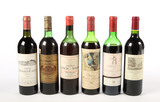 Mixed Lot of Bordeaux from Pauillac (6) - Shipping is NOT available for this lot. Local pickup only.
