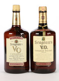 Seagrams V.O. Canadian Whiskey - 2 Bottles -Local Pickup Only