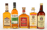 Mixed Lot Canadian Whiskey - 9 Bottles -Local Pickup Only
