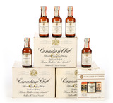 Canadian Club Mini Airlines Bottles - 2 full boxes and 1 partial -Local Pickup Only
