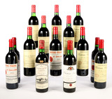Mixed Lot of Bordeaux from Pomerol and St Emilion (14) Shipping not available. Local pickup only
