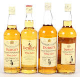 Dewars White Label Scotch Whiskey - 4 Bottles -Local Pickup Only