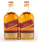 Johnnie Walker Red Label Scotch Whiskey - 2 Bottles -Local Pickup Only
