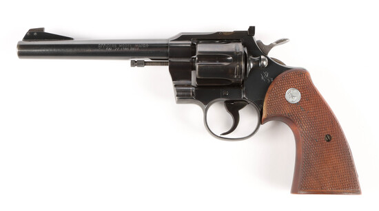 Colt Officer's Match in .22 long rifle