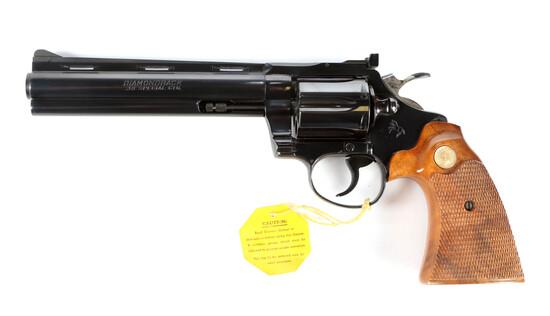 Colt Diamondback in .38 Special