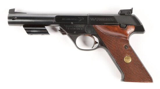 Hi-Standard Supermatic Citation in .22 long rifle