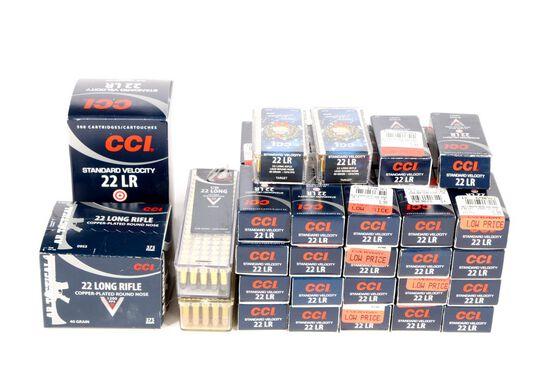 3225 Rounds .22 Long RifleAmmunition