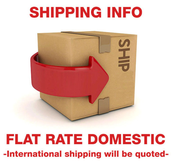 Flat Rate Domestic Shipping Information