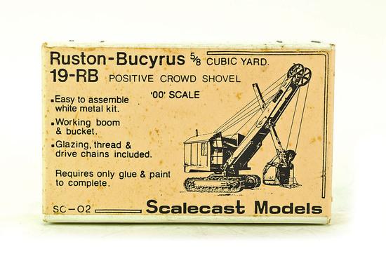 Ruston-Bucyrus 19-RB Shovel - Metal Kit