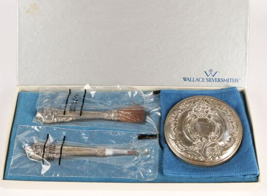 Sterling Vanity Set by Wallace Silversmith