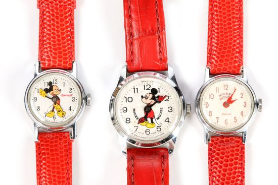 3 Mickey Mouse Watches