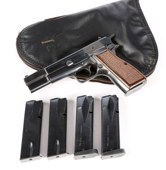 Browning Hi-Power in 9mm Luger