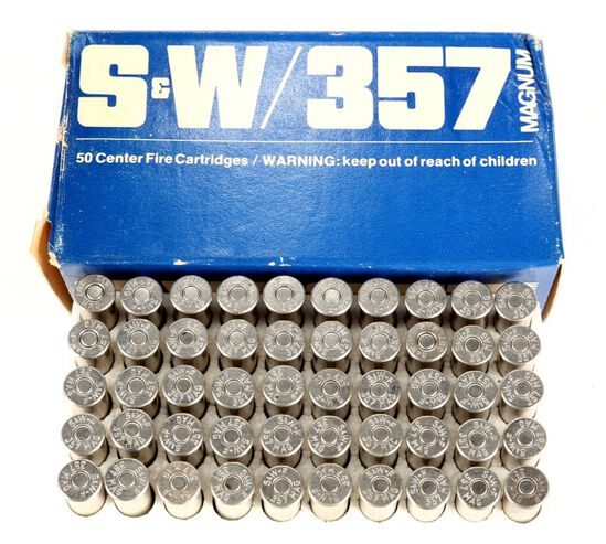 50 Rounds .357 Mag. In Smith & Wesson
