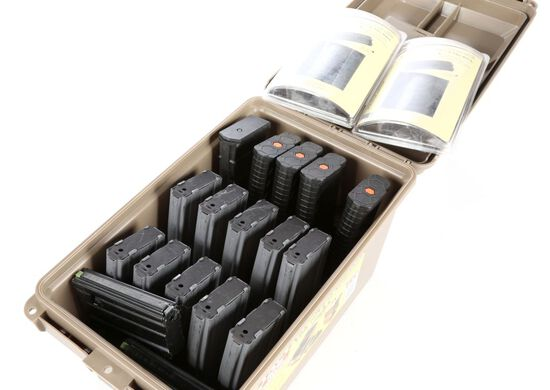 AR-15 magazines & Carry Case
