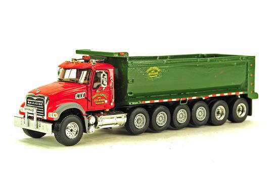 Mack 6 Axle Dump Truck - County Asphalt