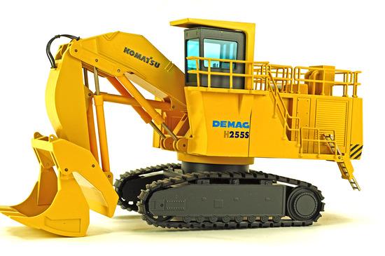 Demag Komatsu H255S Front Shovel